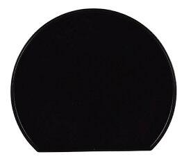 パール金属 PEARL METAL 個々膳 半月両面盆 K6343 ブラック[K6343]