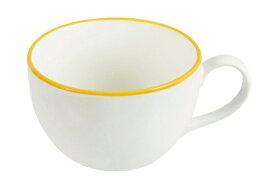 パール金属 PEARL METAL カラーリム スープカップ K6371 イエロー[K6371]