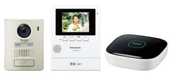 パナソニック Panasonic モニター壁掛け式 ワイヤレステレビドアホン VL-SGZ30K[VLSGZ30K]