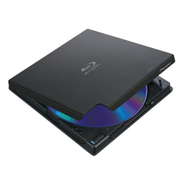 【送料無料】 パイオニア ポータブルブルーレイドライブ[USB]ブラック BDR-XD07LE [USB-A]