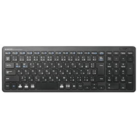 エレコム ELECOM TK-FDP099TBK キーボード コンパクト ブラック [USB /ワイヤレス][TKFDP099TBK]