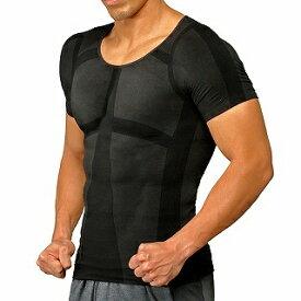 イッティ ITTY 加圧シャツ パンプマッスルビルダーTシャツ(Mサイズ/ブラック)ヒロミプロデュース KTSBKM