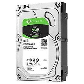 SEAGATE シーゲート ST3000DM007 内蔵HDD BarraCuda [3.5インチ /3TB]【バルク品】 [ST3000DM007]
