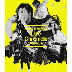 エイベックス・エンタテインメント Avex Entertainment 三浦大知/Live Chronicle 2005-2017【ブルーレイ ソフト】