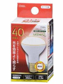 オーム電機 OHM ELECTRIC LDR3L-W-E17 A9 LED電球 ミニレフ形 LEDdeQ ホワイト [E17 /電球色 /1個 /40W相当 /レフランプ形][LDR3LWE17A9]