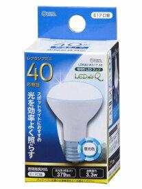 オーム電機 OHM ELECTRIC LDR3D-W-E17 A9 LED電球 ミニレフ形 LEDdeQ ホワイト [E17 /昼光色 /1個 /40W相当 /レフランプ形][LDR3DWE17A9]