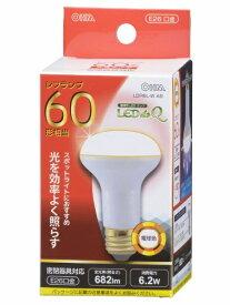 オーム電機 OHM ELECTRIC LED電球 (レフ形・全光束682lm/電球色相当・口金E26) LDR6LW A9[LDR6LWA9]
