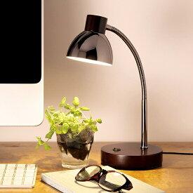 オリンピア OLYMPIA LEDテーブルランプ(木製ダークブラウン)[GS1704DB]