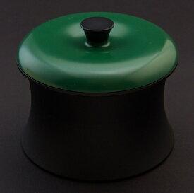 穴織カーボン ANAORI CARBON ≪IH対応≫ カーボン製小型鍋 「COCOTTE RINGO(ココット リンゴ)」(0.55L) RG001BG ブリティッシュグリーン[RG001BG]