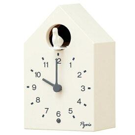 セイコー SEIKO 掛け置き兼用時計 PYXIS(ピクシス)かっこう時計 白 NA610W