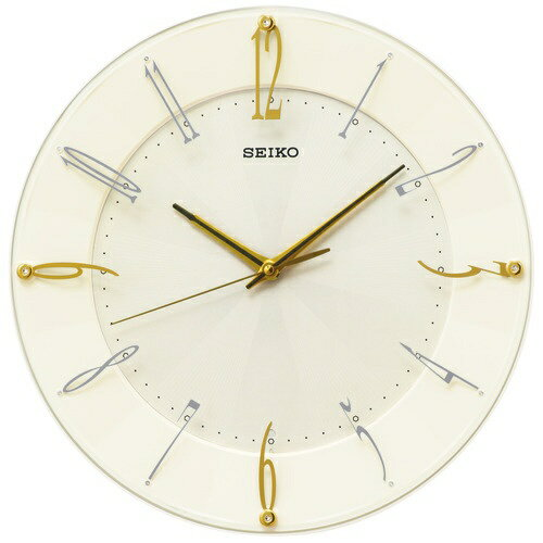セイコー SEIKO 電波掛け時計「スタンダード」 KX214C