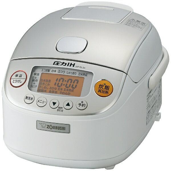 象印マホービン ZOJIRUSHI NP-RL05 炊飯器 極め炊き ホワイト [3合 /圧力IH][NPRL05]