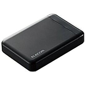 エレコム ELECOM ELP-EDV010UBK 外付けHDD ブラック [ポータブル型 /1TB][ELPEDV010UBK]