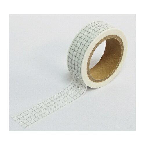 カンコウ(菅公工業) 描けるマスキングテープ 3ミリ方眼 リ048