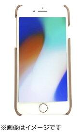 ウイルコム WILLCOM iPhone8専用背面本革ケースブラウン