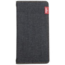 エムディーシー MDC EDWIN [タグデニム /ブラック] iPhone8 手帳型
