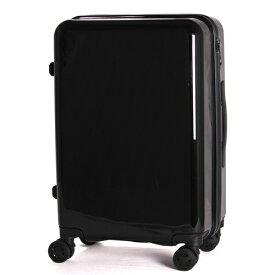 TAGlabel by amadana タグレーベル バイ アマダナ 【ビックカメラグループオリジナル】スーツケース trolley suitcse AT-SC11M(BK) メタリックブラック [TSAロック搭載 /ハードジッパー]【point_rb】