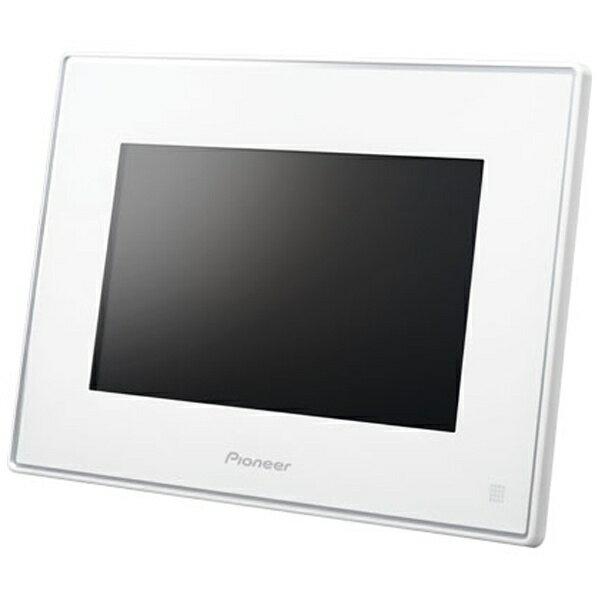 【送料無料】 パイオニア 【7インチ】デジタルフォトフレーム(ホワイト) HF-T750-W[生産完了品 在庫限り][HFT750W]
