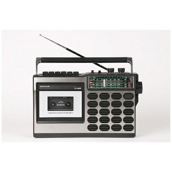 とうしょう TLS-8800 ラジカセ AUDIO PRO88 ブラック [ワイドFM対応][TLS8800]