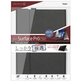 ナカバヤシ Nakabayashi Surface Pro 2017 / Surface Pro 4用 ハードケースカバー TBC-SFP1707BK ブラック[サーフェス カバー]