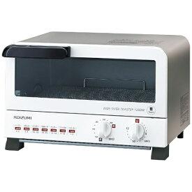 コイズミ KOIZUMI オーブントースター ホワイト KOS-1204/W[KOS1204W] [一人暮らし 単身 単身赴任 新生活 家電]