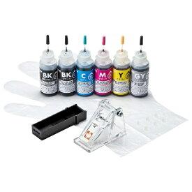 サンワサプライ SANWA SUPPLY INK-C381S30S6 詰め替えインク[INKC381S30S6]【wtcomo】
