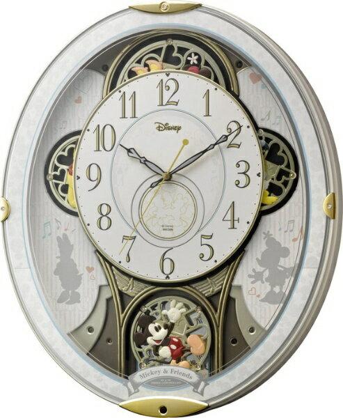 リズム時計 RHYTHM 電波からくり時計 「ミッキー&フレンズM509」 4MN509MC03[4MN509MC03]