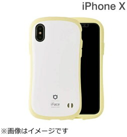 HAMEE ハミィ iPhone X用 iFace First Class Pastelケース ホワイト/イエロー IP8IFACEPASTELWHYE