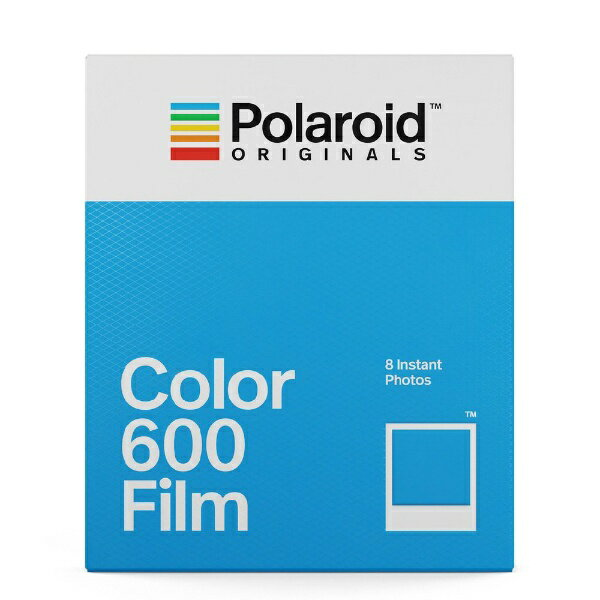 ポラロイド Polaroid Originals インスタントフィルム Color Film For 600 4670