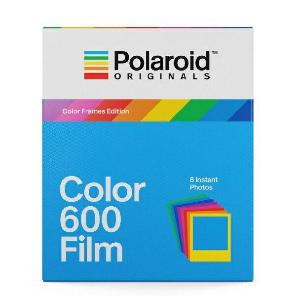 ポラロイド Polaroid Originals インスタントフィルム Color Film For 600 Color Frames 4672