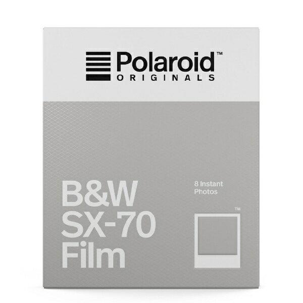 ポラロイド Polaroid Originals インスタントフィルム B&W Film For SX-70 4677[4677]