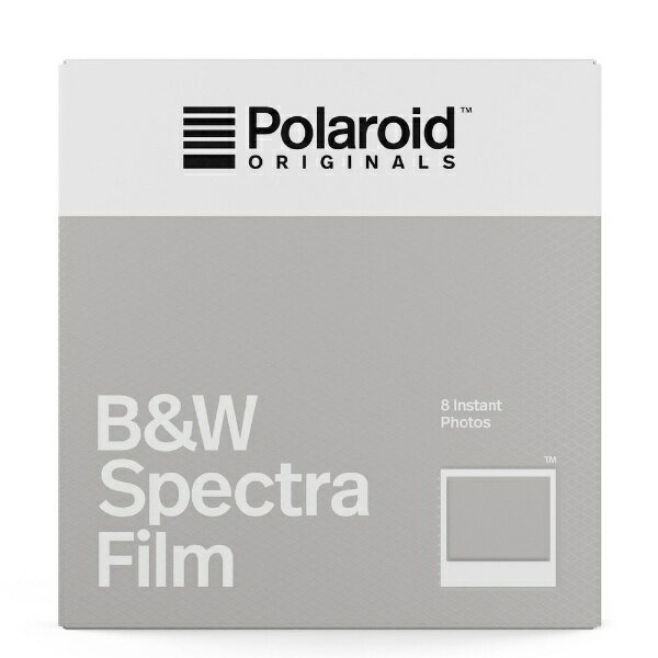 ポラロイド Polaroid Polaroid Originals インスタントフィルム B&W Film For Image/Spectra 4679[4679]