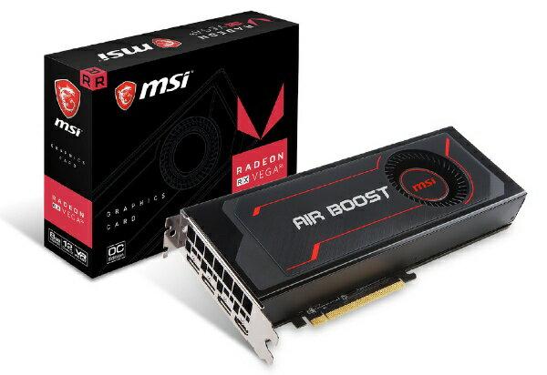 【送料無料】 MSI グラフィックボード RADEON RX VEGA 56 Radeon RX Vega 56 Air Boost 8G OC [8GB /Radeonシリーズ]