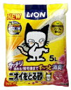 LION ライオン ニオイをとる砂(5L)フローラルソープの香り【rb_pcp】