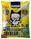 LION ライオン ニオイをとる砂(5L)リラックスグリーンの香り【rb_pcp】