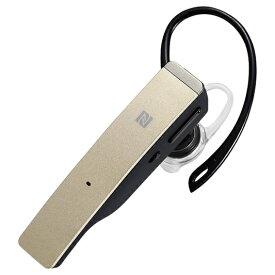 BUFFALO バッファロー BSHSBE500GD ヘッドセット ゴールド [ワイヤレス(Bluetooth) /片耳 /イヤフックタイプ][BSHSBE500GD]