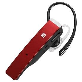 BUFFALO バッファロー BSHSBE500RD ヘッドセット レッド [ワイヤレス(Bluetooth) /片耳 /イヤフックタイプ][BSHSBE500RD]