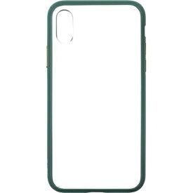 LAUT ラウ iPhone X用 Laut Accents エメラルドグリーン LAUTIP8ACGN