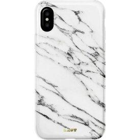 LAUT ラウ iPhone X用 Laut Huex Elements マーブルホワイト LAUTIP8HXEMW