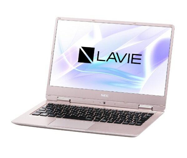 【送料無料】 NEC LAVIE Note Mobile 12.5型ノートPC[Office付き・Win10 Home・Core i5・SSD 256GB・メモリ 8GB]2018年春モデル PC-NM550KAG メタリックピンク