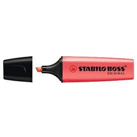 STABILO スタビロ [水性マーカー]BOSS 7040 レッド