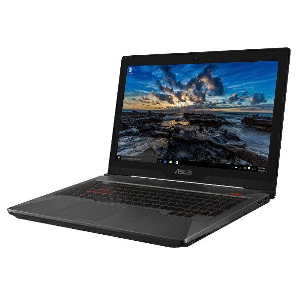 【送料無料】 ASUS ASUS FX503VD 15.6型ゲーミングノートPC[Win10 Home・Core i7・128GB+HDD 1TB・メモリ 8GB]2018年1月モデル FX503VD-E4047T ブラック
