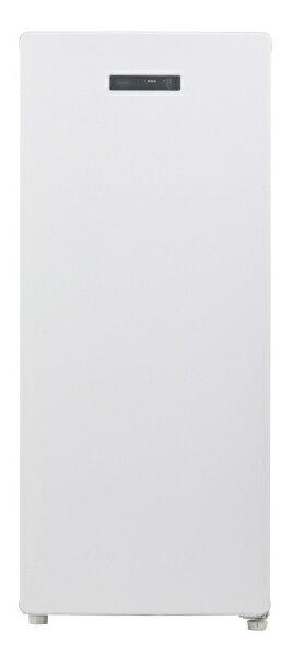 【標準設置費込み】 ハイアール Haier JF-NUF138A 冷凍庫 Live Series ホワイト [1ドア /右開きタイプ /138L]