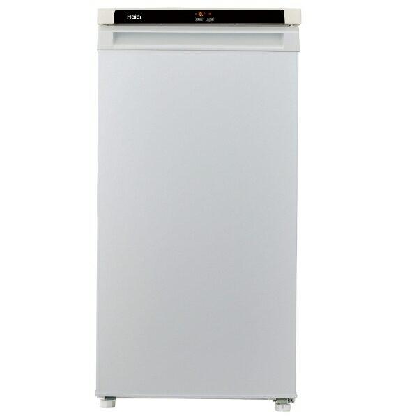 【標準設置費込み】 ハイアール Haier JF-NU102A 冷凍庫 Live Series シルバー [1ドア /右開きタイプ /102L]