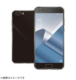 エレコム ELECOM ASUS ZenFone 4 Pro (ZS551KL) フルカバーフィルム 光沢 PM-ZN4PFLRGN PM-ZN4PFLRGN