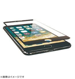 エレコム ELECOM iPhone8 Plus フィルム フルカバー ガラス フレーム付