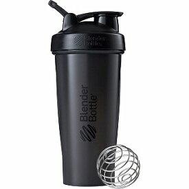 ブレンダーボトル Blender Bottle シェイカーボトル ブレンダーボトル クラシック w/Loop(800ml/フルカラーブラック) BBCLE28-FCBK