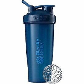 ブレンダーボトル Blender Bottle シェイカーボトル ブレンダーボトル クラシック w/Loop(800ml/フルカラーネイビー) BBCLE28-FCNV