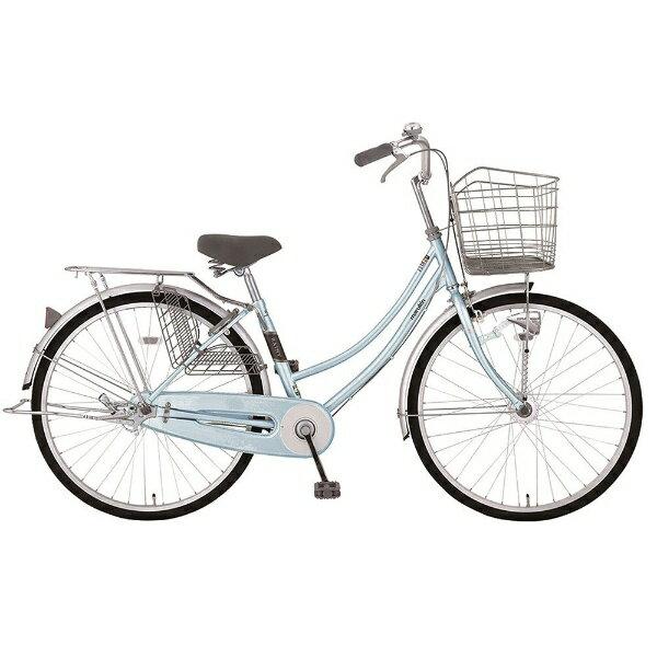 【送料無料】 MARUKIN 26型 自転車 レイニーホームHD 261-K(l-ブルー/シングルシフト) MK-18-010【2018年モデル】【組立商品につき返品不可】 【代金引換配送不可】【メーカー直送・代金引換不可・時間指定・返品不可】