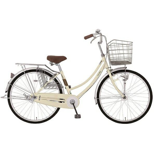 【送料無料】 MARUKIN 26型 自転車 レイニーホームHD 261-K(ベージュ/シングルシフト) MK-18-010【2018年モデル】【組立商品につき返品不可】 【代金引換配送不可】【メーカー直送・代金引換不可・時間指定・返品不可】